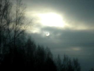 Солнечное затмение